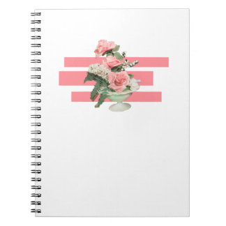 Fake plant Pop Art Spiral Note Book