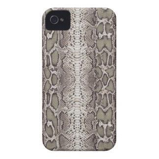 Fake Snake Skin Pattern Blackberry Case-Mate