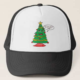 Fake Tree Trucker Hat