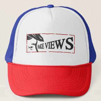 fake views trucker hat
