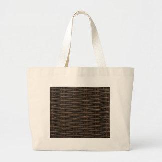 Fake Wicker Bag