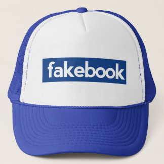 fakebook trucker hat