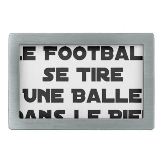 FAKED MATCHES, FOOTBALL SE DRAWS A BALL IN RECTANGULAR BELT BUCKLE
