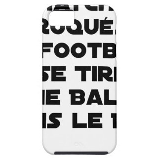 FAKED MATCHES, FOOTBALL SE DRAWS A BALL IN TOUGH iPhone 5 CASE