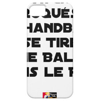 FAKED MATCHES, HANDBALL SE DRAWS A BALL IN BARELY THERE iPhone 5 CASE