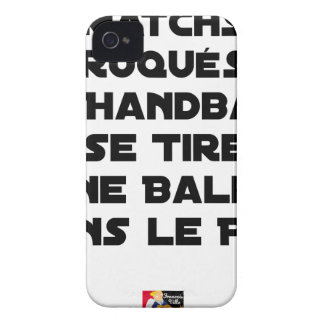 FAKED MATCHES, HANDBALL SE DRAWS A BALL IN iPhone 4 Case-Mate CASE
