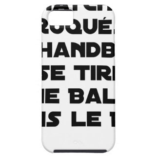 FAKED MATCHES, HANDBALL SE DRAWS A BALL IN iPhone 5 COVER