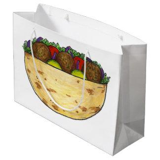 Falafel Pita Sandwich Food Foodie Gift Bag