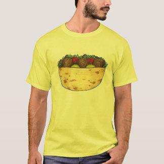 Falafel Stuffed Pita Mediterranean Food Cuisine T-Shirt