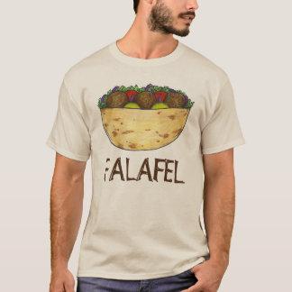 Falafel Stuffed Pita Sandwich Mediterranean Food T-Shirt