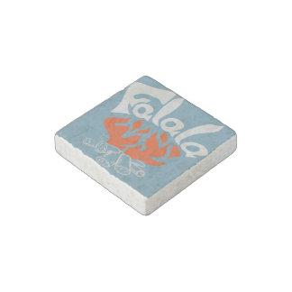 FaLaLa Stone Magnet