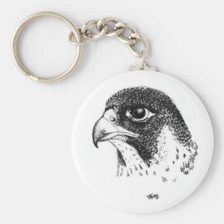 Falcon 5.7 cm Basic Button Key Ring