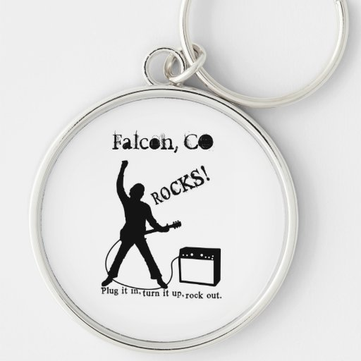 Falcon, CO Keychains