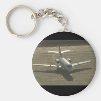 Falcon. (falcon;airplane_Military Aircraft Basic Round Button Key Ring