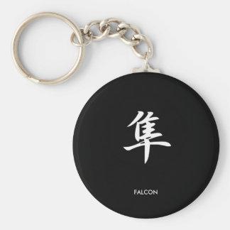 Falcon - Hayabusa Basic Round Button Key Ring