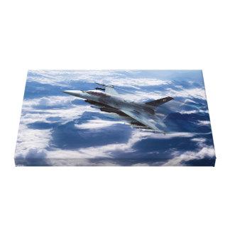 Falcon Speed Canvas Print