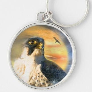 Falcon Sun Art Keychain