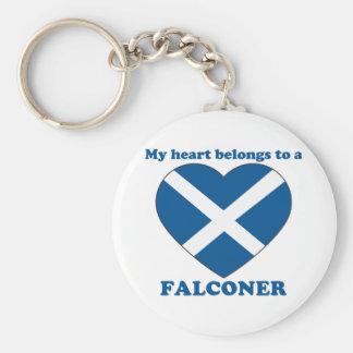Falconer Keychain