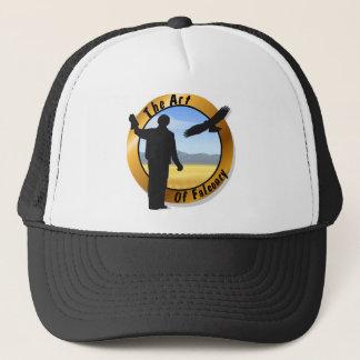 Falconer Medallion Round Cap