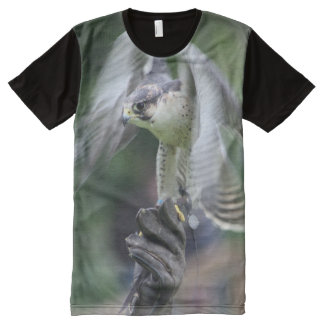 Falconry All-Over Print T-Shirt
