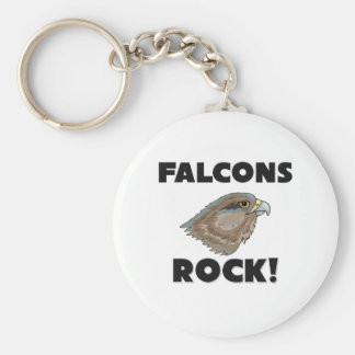 Falcons Rock Key Chain