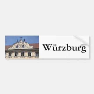 Falkenhaus in Würzburg Bumper Sticker
