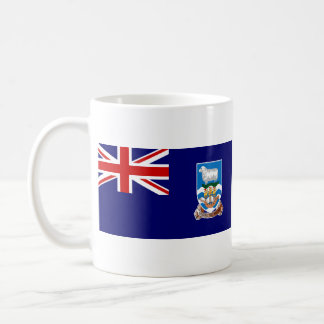 Falkland Islands Flag ~ Map Mug