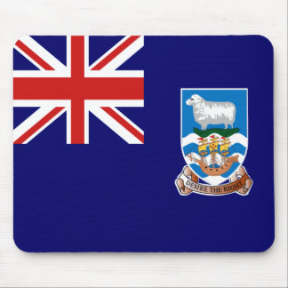 Falkland Islands Flag Mousepad