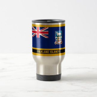 Falkland Islands Flag Travel Mug