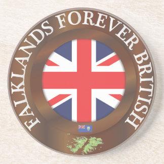 Falklands Forever British Drink Coasters