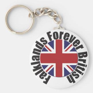 Falkland's Forever British Key Ring