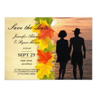 /fall 13 cm x 18 cm invitation card