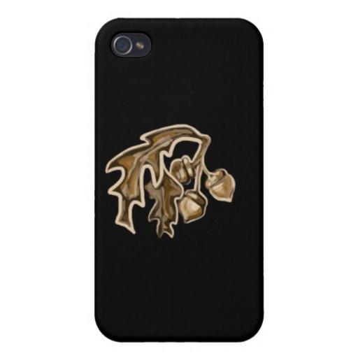 Fall Acorns iPhone 4 Case