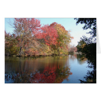 Fall Along The Creek Card