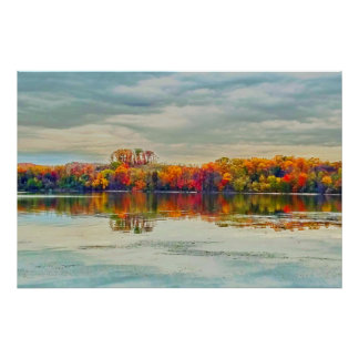 Fall Along The River Poster