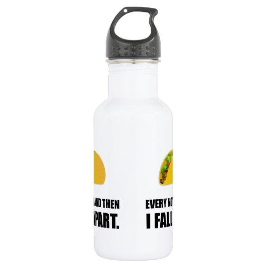 Fall Apart Taco 532 Ml Water Bottle