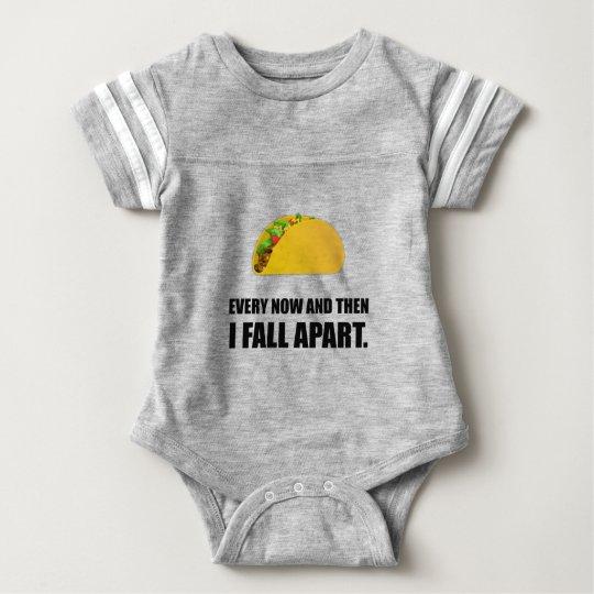 Fall Apart Taco Baby Bodysuit