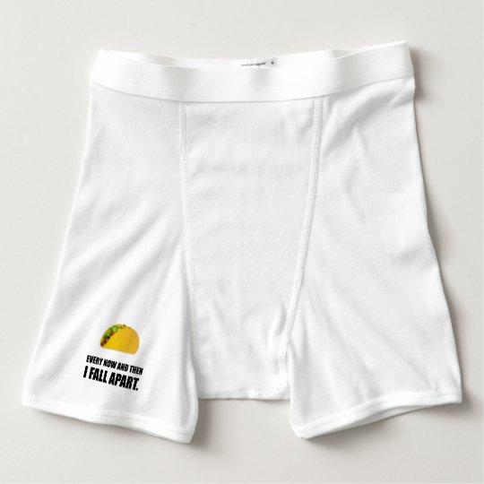 Fall Apart Taco Boxer Briefs