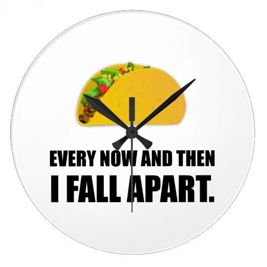 Fall Apart Taco Clocks