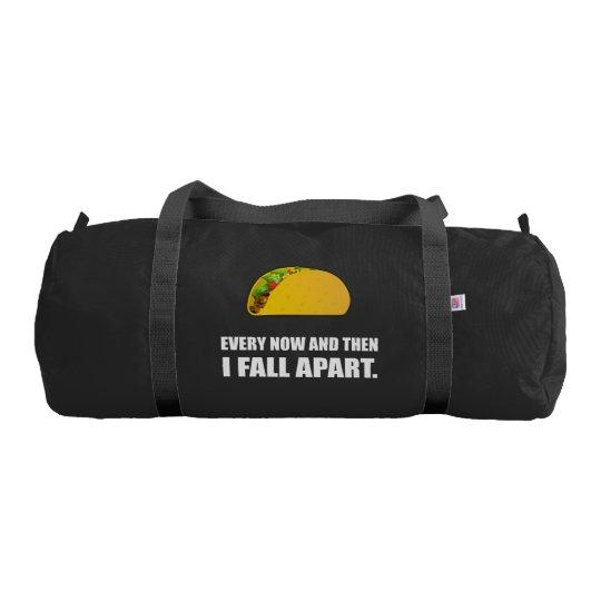 Fall Apart Taco Gym Bag