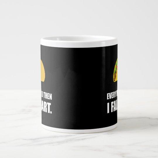 Fall Apart Taco Large Coffee Mug