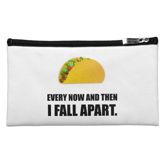 Fall Apart Taco Makeup Bags