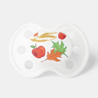 Fall Apples Pacifier