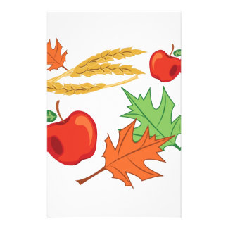 Fall Apples Stationery