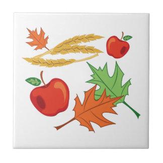 Fall Apples Tile