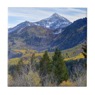 Fall At Cascade Peak And Sundance From Alpine Loop Tile