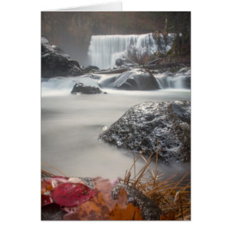 Fall at Middle falls Card