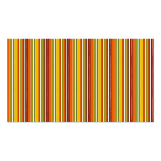 Fall Autumn Striped Pattern Orange Red Gold Business Card Templates