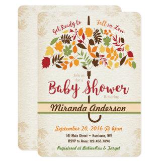 Fall Baby Shower Invitation
