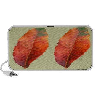 Fall Beauty: Golden Leaf PC Speakers